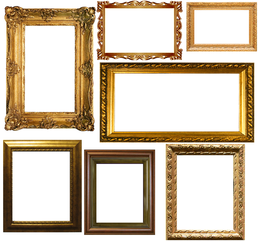 tons of decorative frames